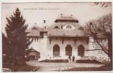 Bnk cp Ramnicu Sarat - Teatrul Comunal - circulata 1934, Fotografie