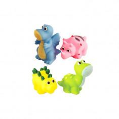 Set 4 jucarii pentru baie Unikatoy 901900, Multicolor
