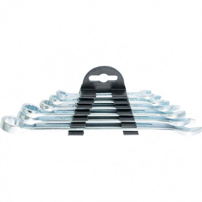 SPARTA Set chei combinate, 6-17 mm, 6 buc., cromate, SPARTA 154305