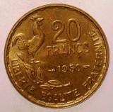 1.651 FRANTA 20 FRANCS FRANCI 1950 XF 3 PENE GEORGES GUIRAUD