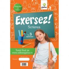 Exersez! Scrierea (prescolari si clasa I)