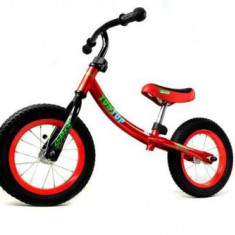 Bicicleta fara pedale, TupTup, rosu, 12 inch
