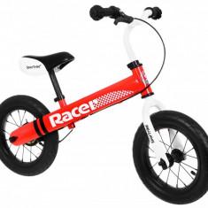 Bicicleta fara pedale SporTrike Racer, rosu