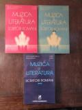 ZOE DUMITRESCU BUSULENGA - MUZICA SI LITERATURA - SCRIITORI ROMANI( 3 VOL )