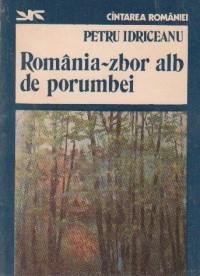 Romania - zbor alb de porumbei foto