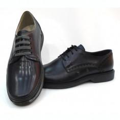 Pantofi casual barbati G-3505, 39 - 46, Bleumarin, Maro, Negru, Piele naturala
