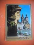 HOPCT 64474 PIATA CENTRALA   PRAGA  -CEHIA -STAMPILOGRAFIE-CIRCULATA