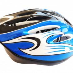 Casca bicicleta adulti albastra