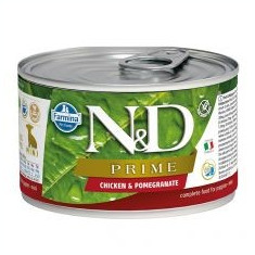 Farmina N&D dog Prime Cicken & Pomegranate PUPPY 140 g