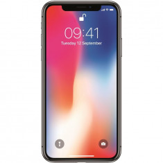 Telefon mobil iPhone X, 256GB, 4G, Silver