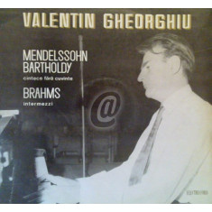 Valentin Gheorghiu - Recital de pian(Vinil)