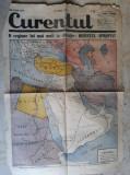 WWII - HARTA - ORIENTUL APROPIAT - EXTRAS DIN ZIARUL CURENTUL - 7 MARTIE 1940