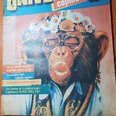 Revista universul copiilor nr. 27-28/ iulie 1991 - numar dublu