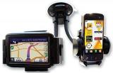 Cumpara ieftin Suport auto pentru telefon dublu pentru telefon si GPS+CADOU