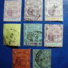 MAURITIUS 1895/1902