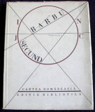 Ion Barbu - Joc secund (versuri) editie bibliofila 1986, manuscrise Barbilian
