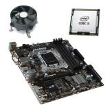 Kit Placa de Baza MSI B150M PRO-VDH, Quad Core i5-6400, Cooler