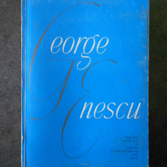 GEORGE OPRESCU, MIHAIL JORA - GEORGE ENESCU (1964, volum omagial)
