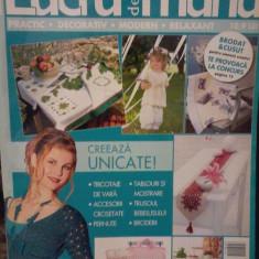 ,Revista LUCRU DE MANA nr. 23 (vara 2011)