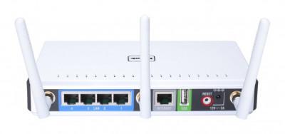 Router wireless D-Link Gigabit DIR-655 Xtreme N 3 antene USB 2 dBi 802.11n foto