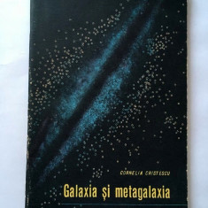 Galaxia Si Metagalaxia - Cornelia Cristescu, editura: STIINTIFICA  1964, 72 pag