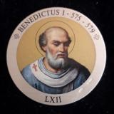 Italia Medalie Argint 925 marcat - Papa Benedictus I, Europa