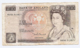 Marea Britanie 10 Pounds ND (1971/91) signature:D. H. F. Somerset, 212971, P-379