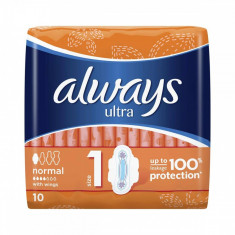 Absorbante ALWAYS Ultra Normal Plus 10 bucati