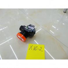 X16-02 LANTERNA 1 LED PT CAP CU ACUMULATOR