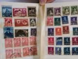 Clasor A6, 16 pag.cu timbre vechi,Romania,1900-1950
