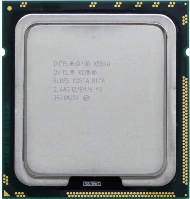 Procesor server Intel Xeon QUAD X5550 SLBF5 2.66Ghz 8M SKT 1366