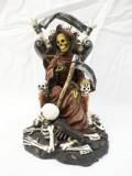 Statueta figurina craniu schelet rock hard rock 21 cm