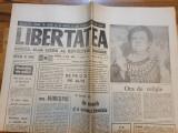 Ziarul libertatea 29 decembrie 1990-nr de anul nou,art. despre regele mihai