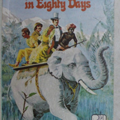 ROUND THE WORLD IN EIGHTY DAYS by JULES VERNE , 1958
