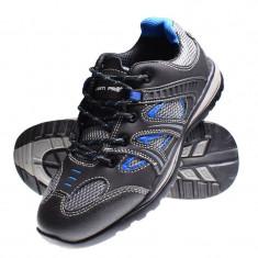 Pantofi piele velur Lahti Pro, tesatura cauciuc, marimea 45