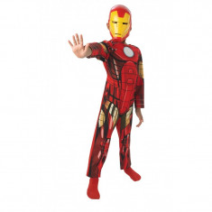 Costum pentru copii Clasic Iron Man, varsta 5-6 ani, marime M