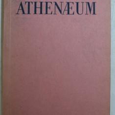 ATHENAEUM - REVISTA INVATAMANTULUI LICEELOR MILITARE , APARE TRIMESTRIAL , AN IV , NR. 2 , APRILIE - IUNIE , 1938