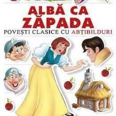 Alba ca Zapada - Povesti clasice cu abtibilduri PlayLearn Toys