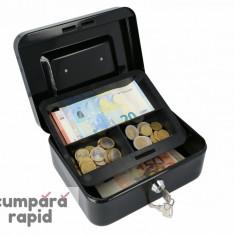 Casetă Bani EUROPE 200 negru