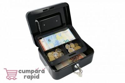 Casetă Bani EUROPE 200 negru foto