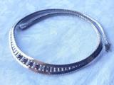 COLIER argint SPLENDID manopera EXCEPTIONALA de efect SPLENDID stare IMPECABILA