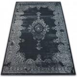 Covor Vintage Rozetă 22206/996 negru, 200x290 cm