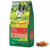 Cumpara ieftin Hrana uscata pentru caini KIRAmore Medium Adult Active, 3 kg