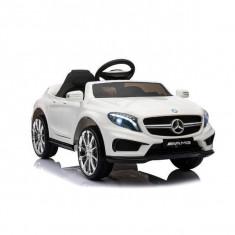 Masinuta electrica cu telecomanda Mercedes-Benz GLA 45 AMG Alb