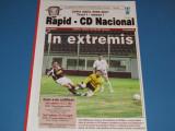 Program meci fotbal RAPID BUCURESTI - CD NACIONAL FUNCHAL (14.09.2006)