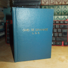CFR : GHID DE DEPANARE LOCOMOTIVE DIESEL ELECTRICE 2100 C.P. , UZ INTERN , 1968