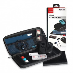 13 in 1 Super kit Accesorii si husa de transport consola Nintendo Switch