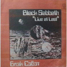 Disc Vinil LP - Black Sabbath - Melodia URSS - vinyl 1989