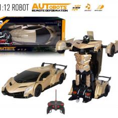 SUPER ROBOT DIN TRANSFORMERS,MASINA DE VITEZA SI ROBOT,TELECOMANDA,CADOU SUPER!