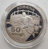 50 bani 2021 România Euro 2020, proof